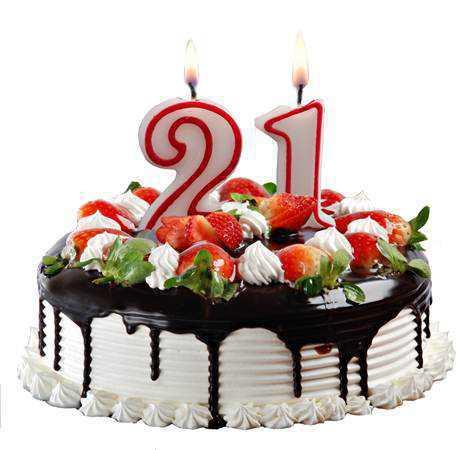 Поздравления с совершеннолетием 21